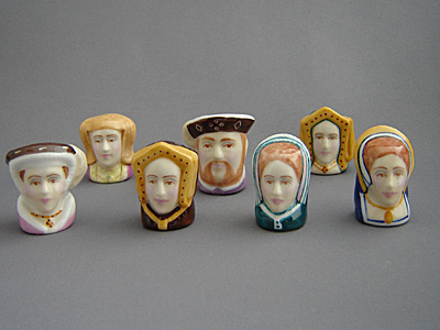 Sutherland Thimbles - Henry VIII and his Six Wives