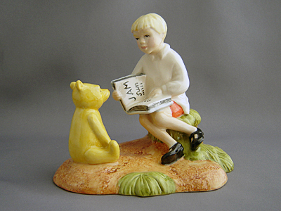 Christopher Reads to Pooh