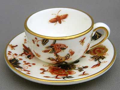 Coalport Hong Kong Cup and Saucer