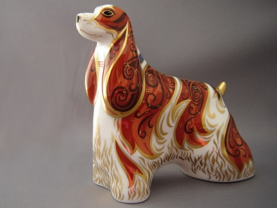 Crown Derby American Spaniel