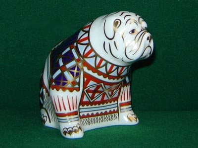 Crown Derby Bulldog