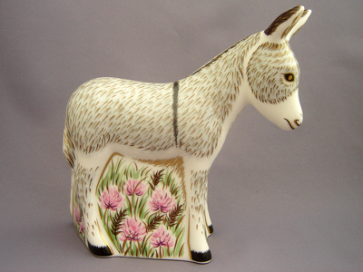 Crown Derby Donkey Foal