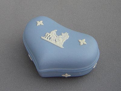 Wedgwood Blue Jasperware Trinket Box