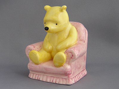 Winnie-the-Pooh in the Armchair